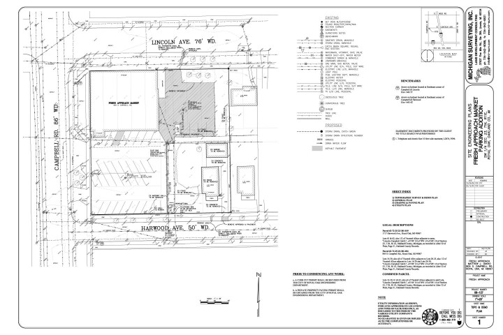 Residential building site plan for Residential site plan
